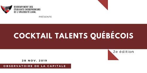 Cocktail Talents Québécois