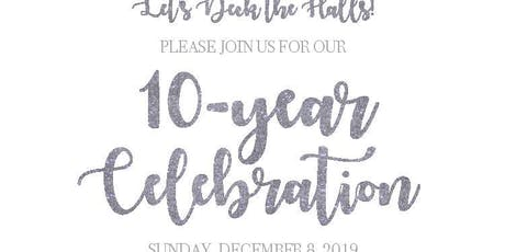10-year Celebration tickets