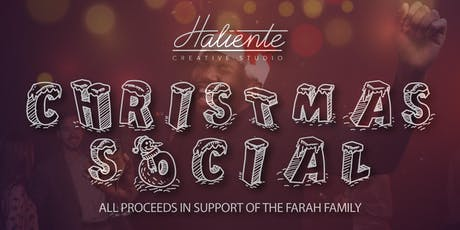 Haliente's Christmas Social  ( Dance for a Good  Cause) tickets