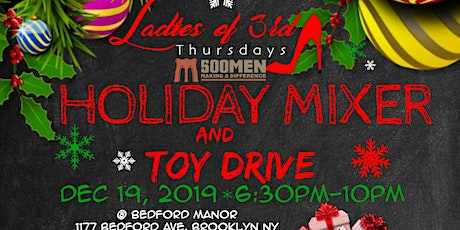 Ladies Of 3rd Thursday Holiday Mixer & Toy Drive tickets