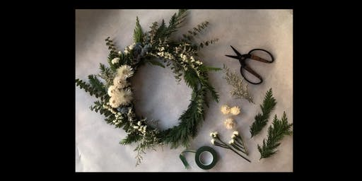 Asrai Garden Winter Solstice Wreath Workshop