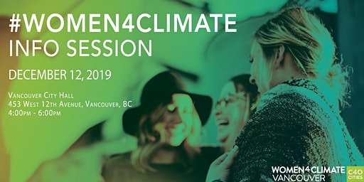 Women4Climate Mentorship Program - Info Session
