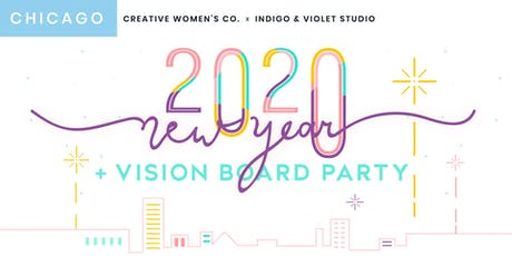 Chicago Creative Women's Co. New Year & Vision Board Party tickets