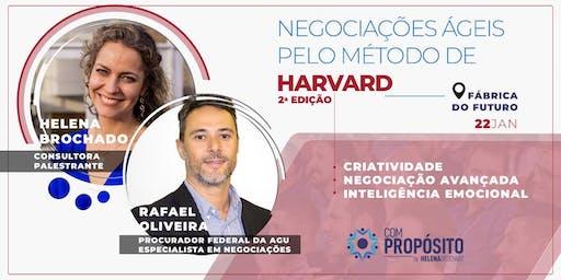NEGOCIAÇÕES ÁGEIS PELO MÉTODO DE HARVARD - 2ª edição