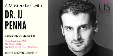 Masterclass with JJ Penna tickets