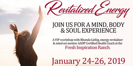 Revitalize Energy Retreat to Your NEW Freedom in Life and Business 2020 tickets