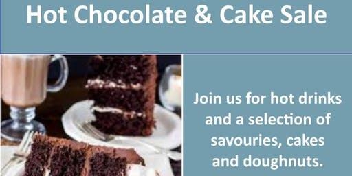 Hot Chocolate & Cake Sale
