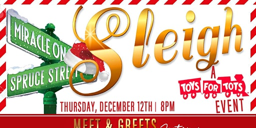 SLEIGH , A Miracle on Spruce St  ! A Toys for Tots Housewife takeover