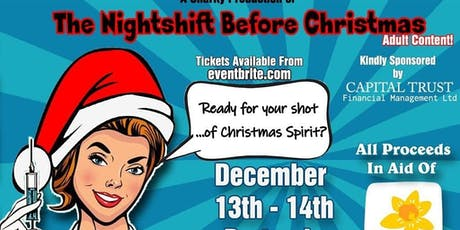 """The Night Shift Before Christmas"" By Caroline Curran And Julie Lewis *Adul tickets"