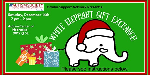 December Teen and Adult White Elephant Gift Exchange
