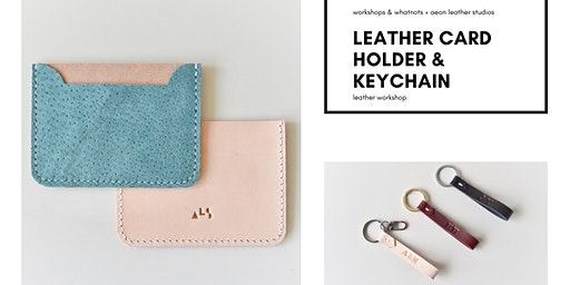 Leather Card Holder & Keychain Workshop