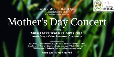 Modern Marimba Concert Series: Mother's Day at the Sarasota Garden Club