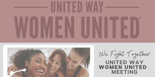 United Way Women United Meeting