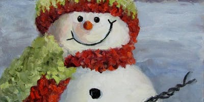 Happy Christmas (SUNDAY OIL PAINTING WORKSHOP 08/12) 12:00-16:30