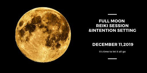 Full Moon Reiki Session