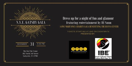 N.Y.E.  Roaring  20's Gatsby Gala