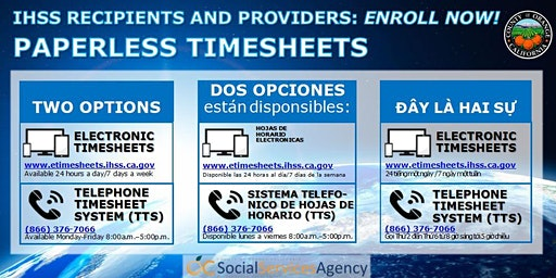 OC IHSS EVV Information Session-LAKE FOREST/EL TORO