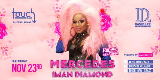 Mercedes Iman Diamond • RPDR S11 • Thanksgiving Fundraiser at Touch Bar El Paso