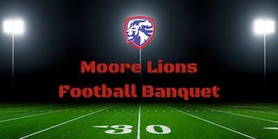 Moore Lions Football Banquet