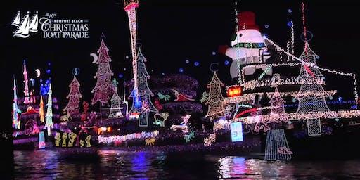 NEWPORT BEACH CHRISTMAS PARADE CRUISE ON A LUXURY YACHT - FULL BAR ONBOARD!