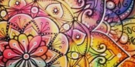 Yoga and Intuitive Mandala Painting  tickets