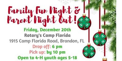 2019 4-H Family Fun Night/Parent Night Out