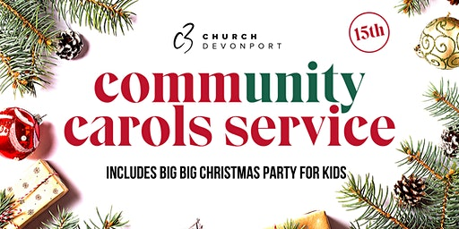 C3 Community Carols Service and Big Big Christmas Party for Kids