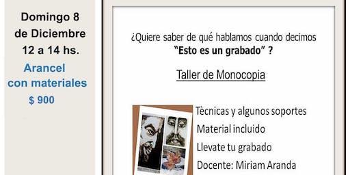 TALLER DE MONOCOPIA