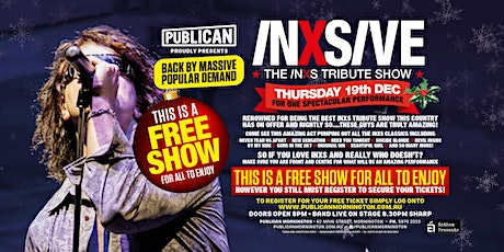 Inxisve live FREE show at Publican, Mornington! tickets