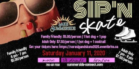 Sip n' Skate 2020 tickets