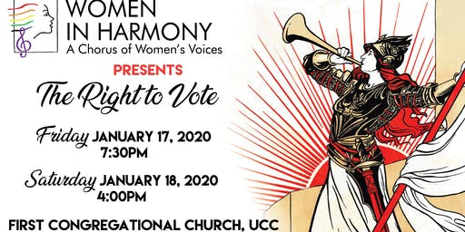 """Women in Harmony Winter Concert """"The Right to Vote"""""""