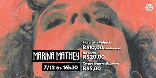 """Show Marina Mathey: """"Trava"""""""