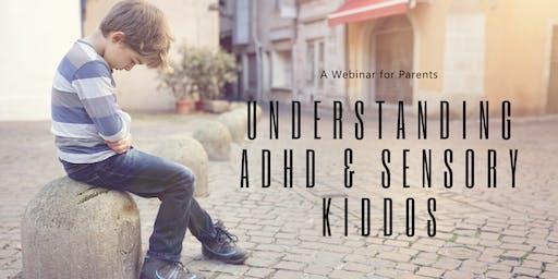 Webinar: Understanding ADHD & Sensory Kiddos