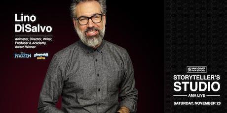 VFS Storyteller's Studio Presents: Lino DiSalvo tickets