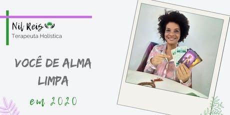 Sessão de Tarot: Você de Alma Limpa! ingressos