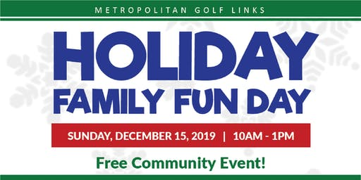 Free Holiday Open House for Families including Pictures with Santa!