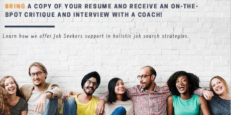 Opportunities Knock Open House - FREE RESUME REVIEW tickets