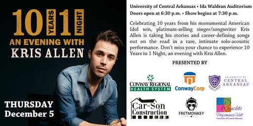 Off the Clock: An Evening with Kris Allen