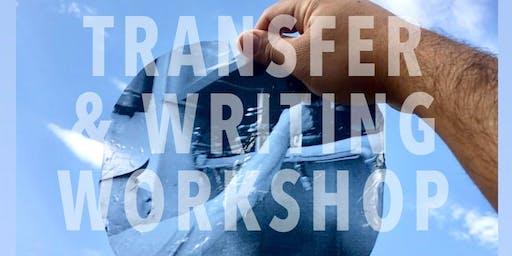 ART IMAGE TRANSFER & WRITING Workshop