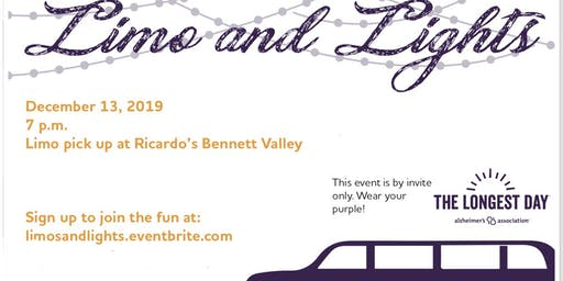 Limo's and Lights Benefiting the Alzheimer's Association