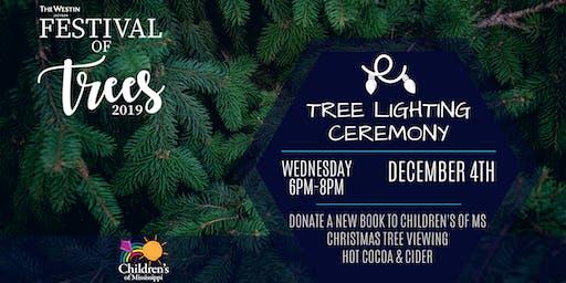 Festival of Trees - Tree Lighting Ceremony