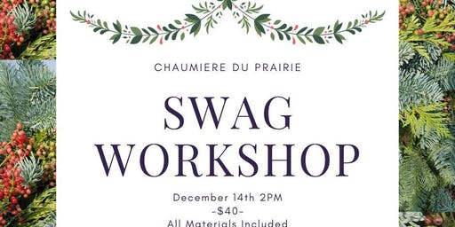 Holiday Swag Workshop