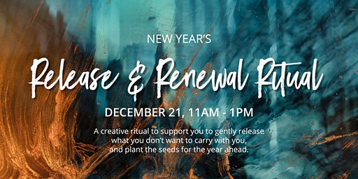 New Year Release & Renew Ritual