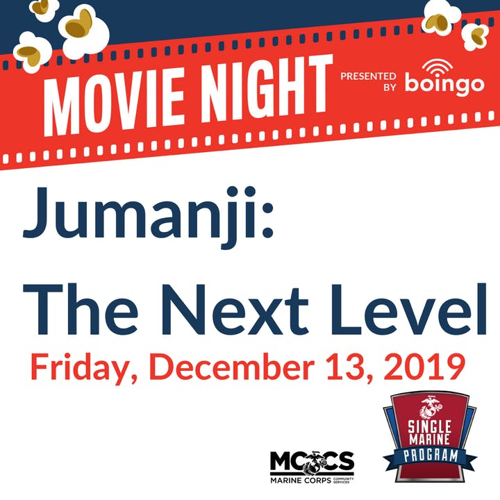 SM&SP FREE Movie Night: Jumanji @ SMP - Single Marine Program | Kailua | HI | US
