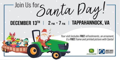 Santa Day with John Deere