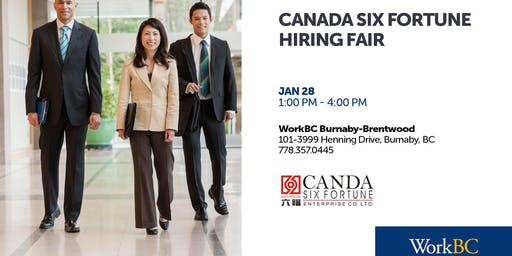 Canada Six Fortune - Hiring Fair