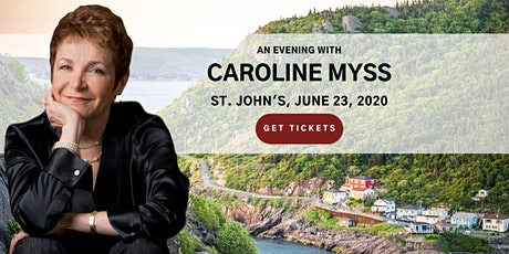 An Evening with Caroline Myss in St John's tickets