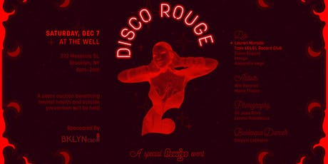 Disco Rouge | Live Art & Dance tickets