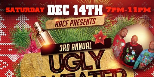 AACF Presents 3rd Annual Ugly Sweater Swag Party