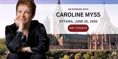 An Evening with Caroline Myss in Ottawa tickets